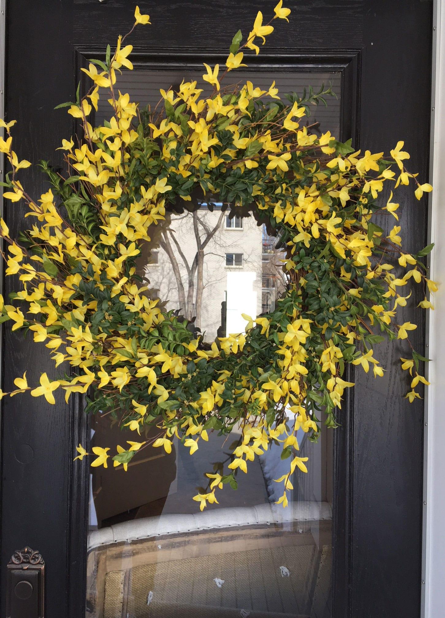 Spring Wreath Marlow Floralworks Online Store
